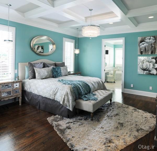 انتخاب بهترین رنگ اتاق خواب
