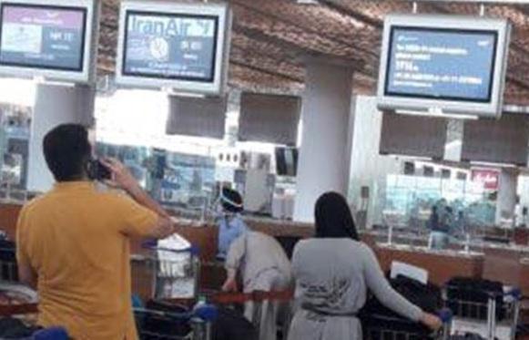 بازگشت 207 نفر از اتباع ایرانی از بمبئی به ایران