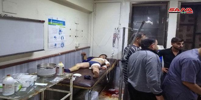 خبرنگاران انفجار بمب جان یک شهروند سوری را گرفت