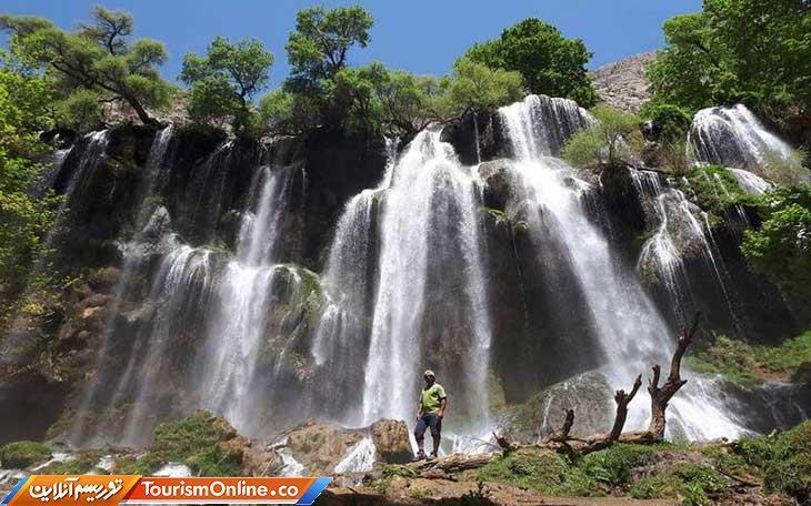 آبشار زردلیمه در شهر ناشناخته های ایران!، تصاویر