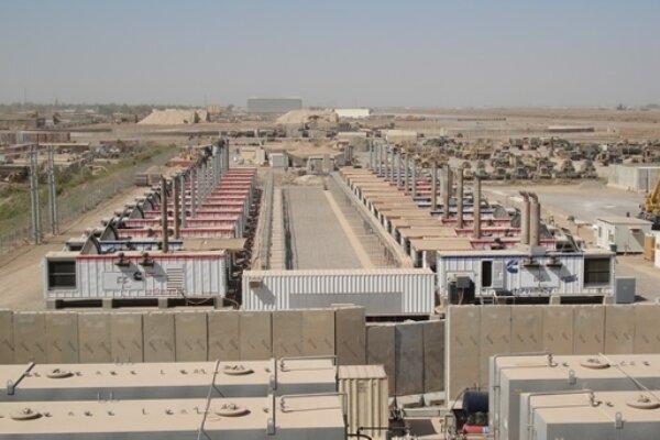 حمله راکتی به پایگاه نظامی ویکتوریا در نزدیکی فرودگاه بغداد