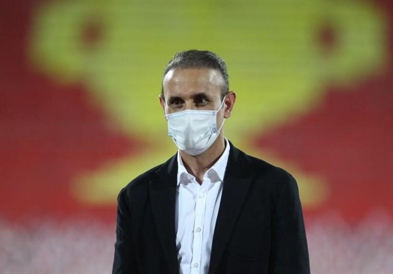 گل محمدی در نشست خبری ملاقات نساجی - پرسپولیس شرکت نکرد