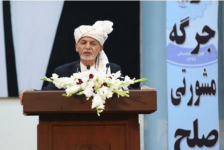 غنی: طالبان تعهد کرده پس از آغاز مذاکرات 400 زندانی دولت را آزاد کند