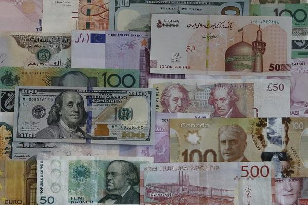 نرخ رسمی 31 ارز کاهش یافت