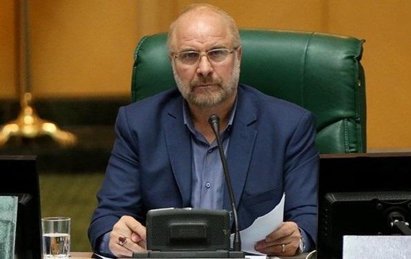 روسای مجلس های 4 کشور جویای احوال قالیباف شدند